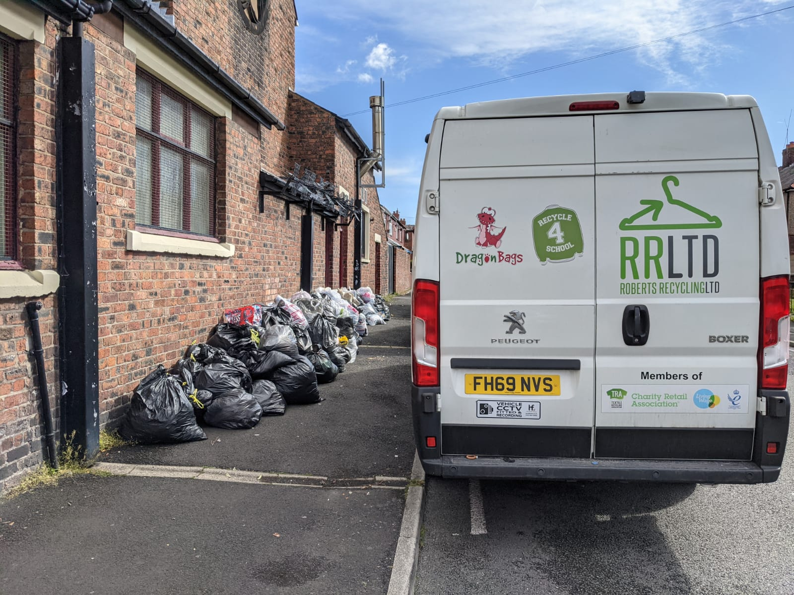 WHERE CAN I RECYCLE CLOTHES IN LIVERPOOL