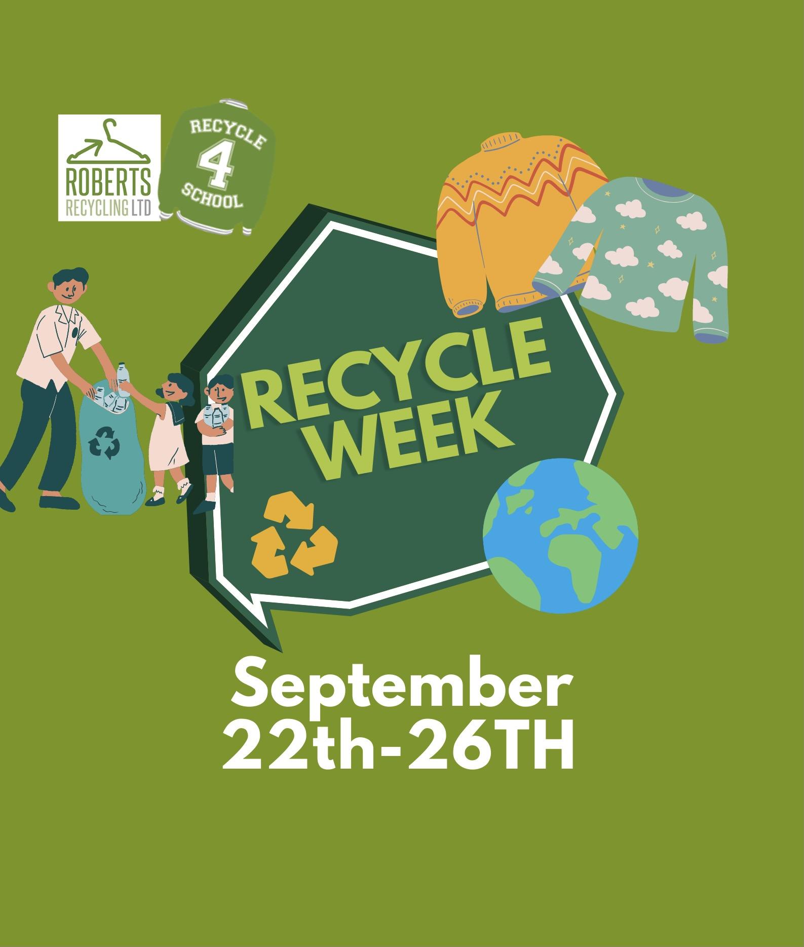 Recycle Week September 2021
